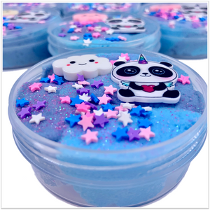 Sweet Dreams Panda Cloud Slime - Slimy Panda Slime Shop