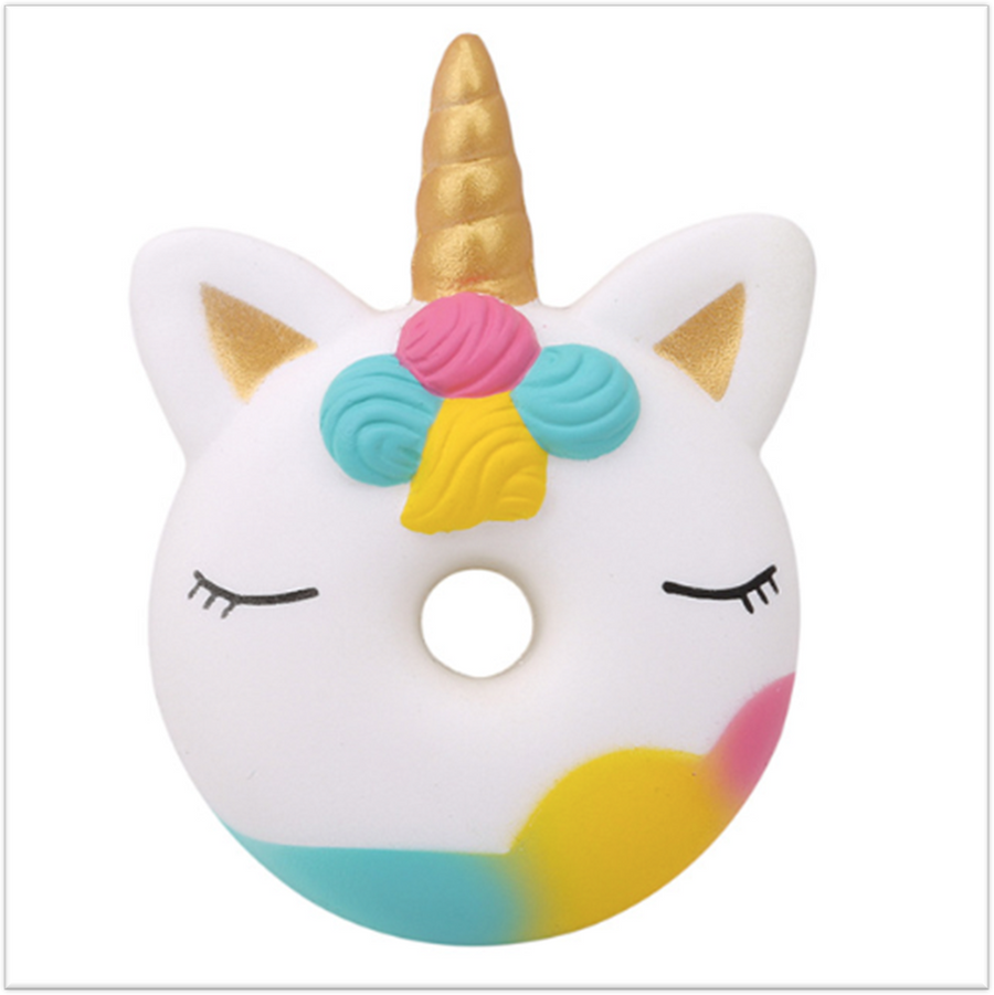 Yummy Unicorn Donut Squishy - Slimy Panda Slime Shop