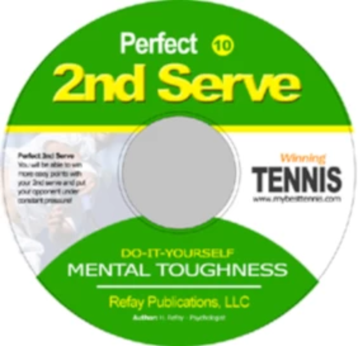 Tennis Mental Toughness #10. Perfect 2nd Serve