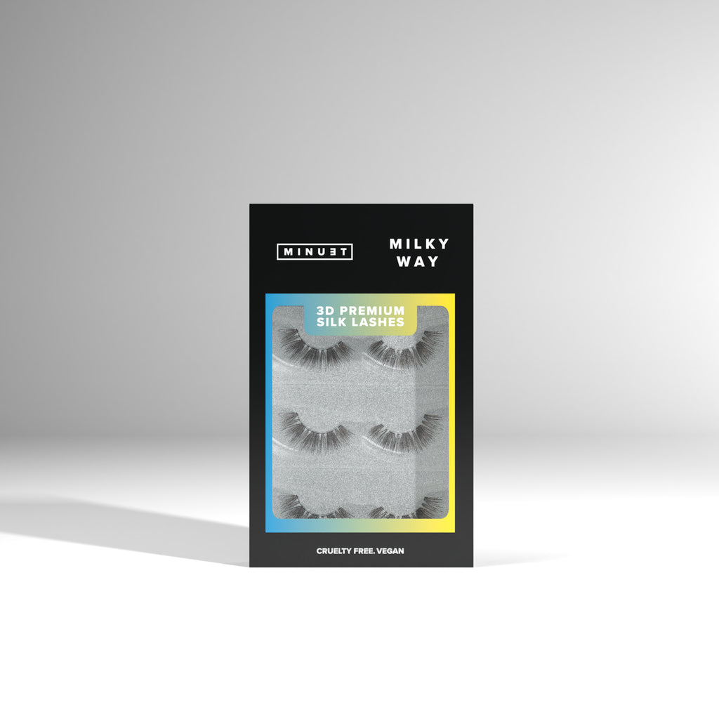 BUNDLE Minuet 3D Premium Silk Lashes - Milky Way