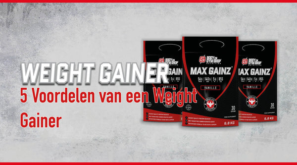 Weight gainer aankomen blog