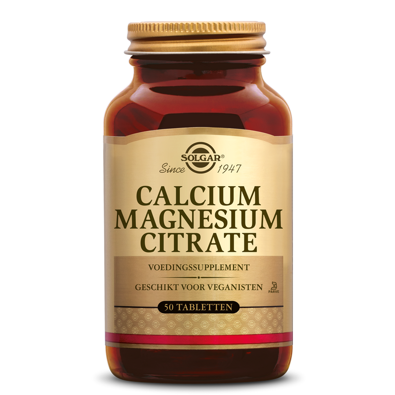 Solgar Vitamins - Calcium Magnesium Citraat