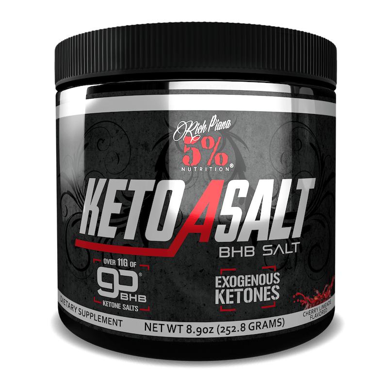 Rich Piana 5% Nutrition - Keto aSALT