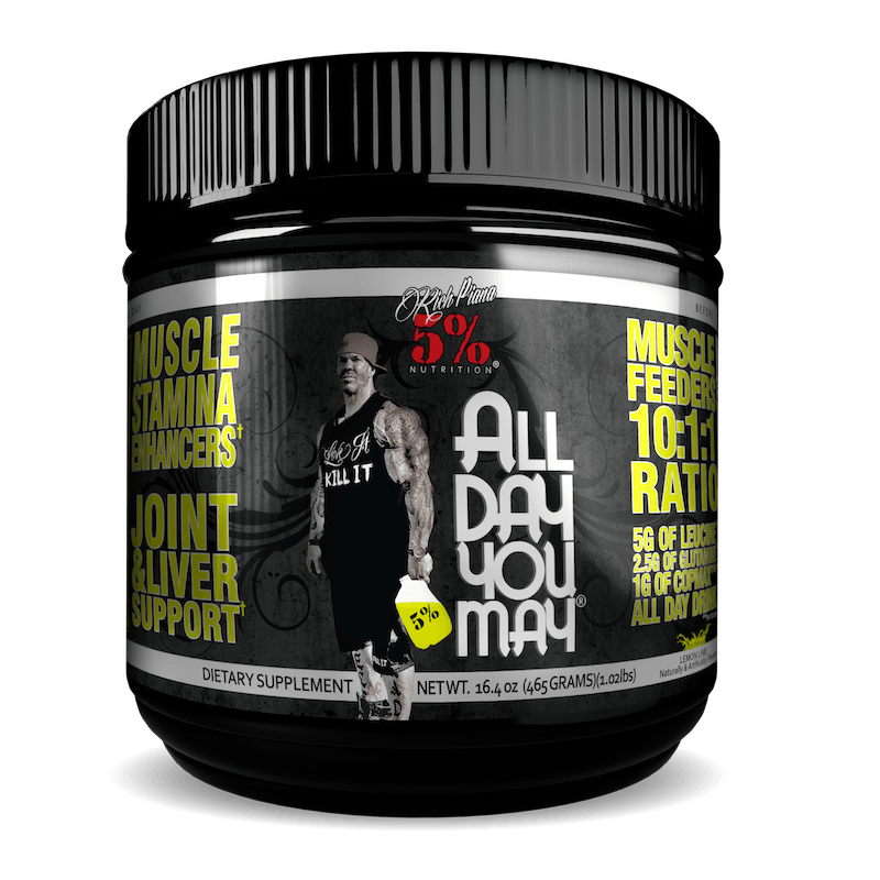 Rich Piana 5% Nutrition - All Day You May