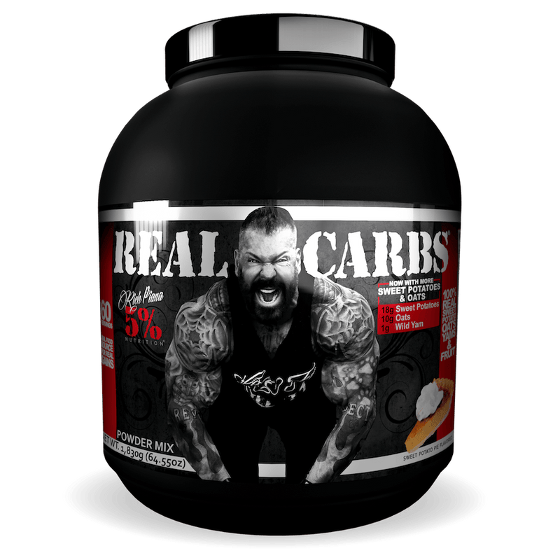 Rich Piana 5% Nutrition - Real Carbs