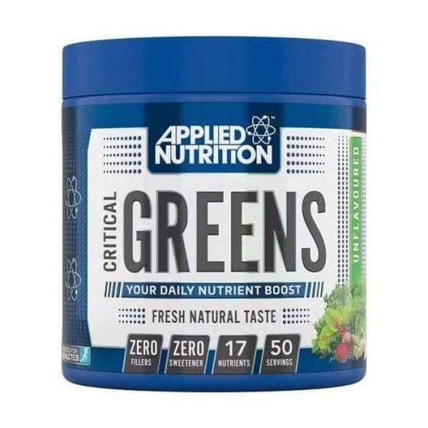 Applied Nutrition - Critical Greens - 250 gram / Unflavoured - Multivitamine