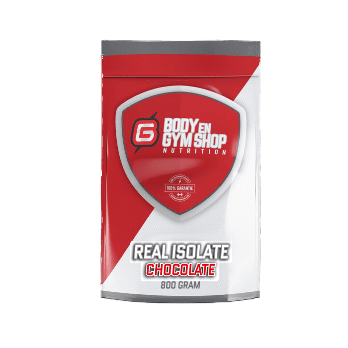 Body & Gym Shop - Real Isolate - 800 gram / Chocolade - Whey-Isolaat