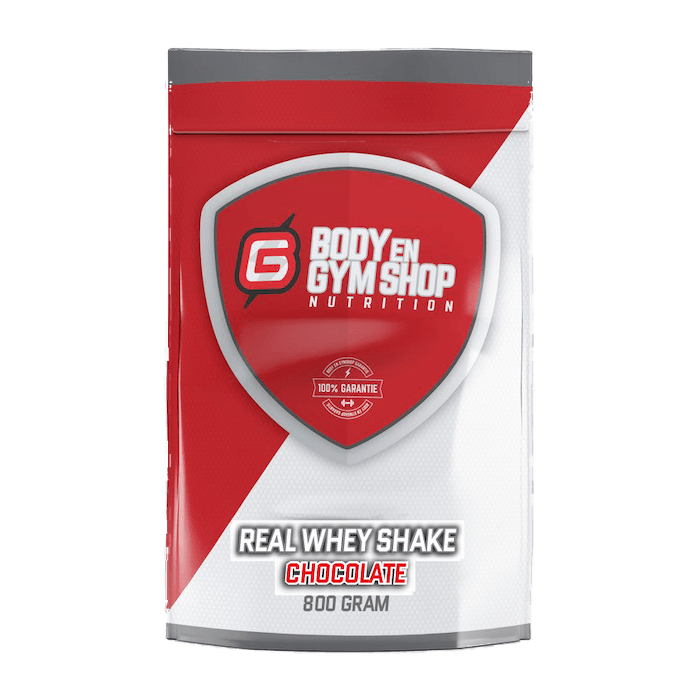 Body & Gym Shop - Real Whey Shake - 800 gram / Chocolade - Whey