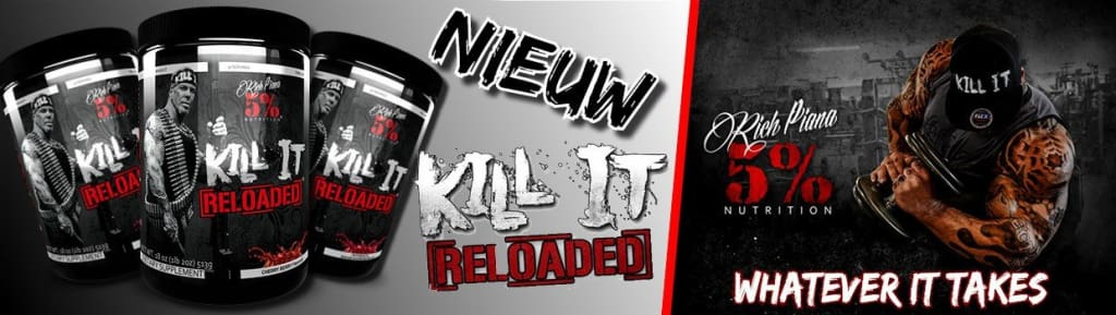 Rich Piana Kill It Banner