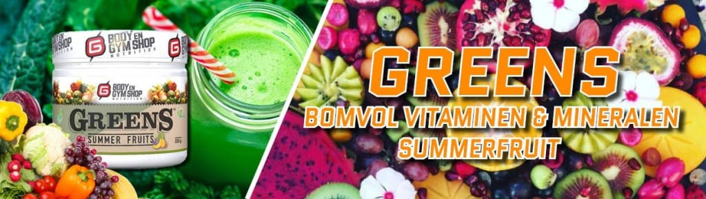 Greens Vitamines Banner