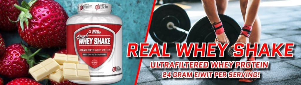 Real Whey Shake Banner
