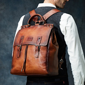 Casual Cow Leather Backpack