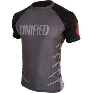 Unified Short Sleeve Compression Rash Guard, Compression Rash Guard, Unified Boxing, Unified Boxing - Unified Boxing