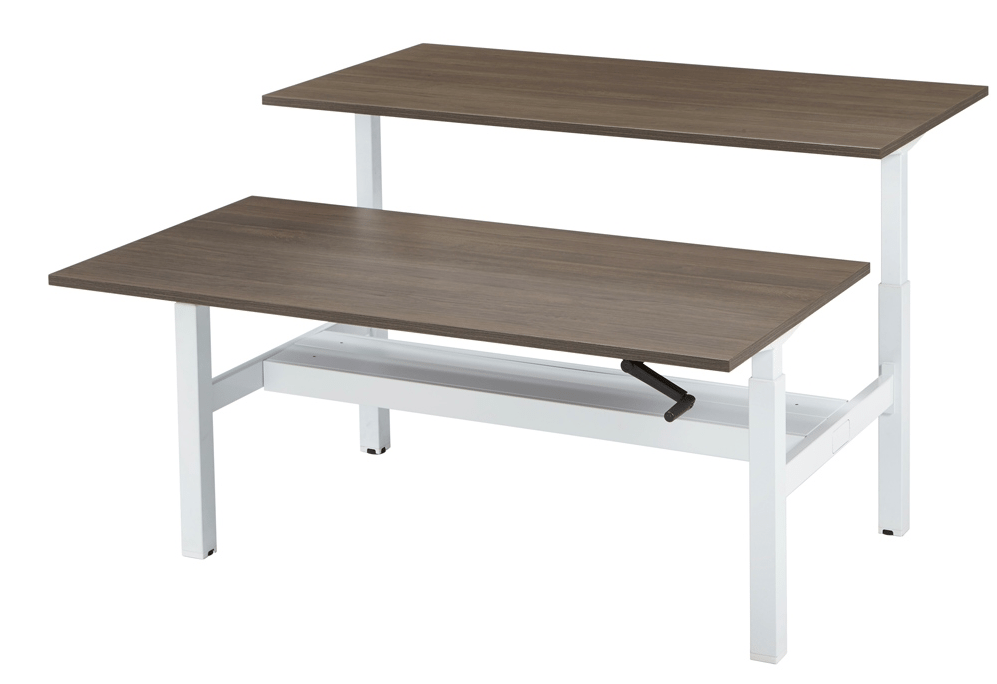 Duo Bench Werkplek 160 x 80 cm - Tom Kantoor & Projectinrichting