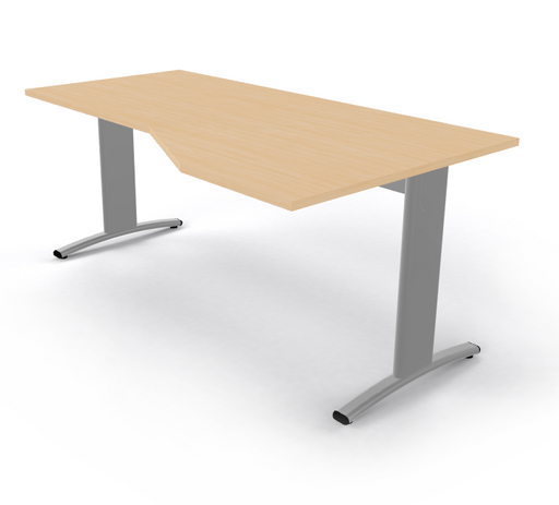 Entrada bureau Wing 180 x 100cm - Tom Kantoor & Projectinrichting
