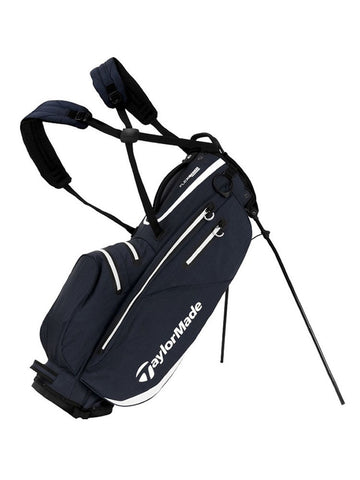 TaylorMade Flextech Waterproof Stand Bag - Grey/White