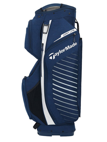 TaylorMade Cart Lite Bag - Navy/White