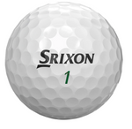 Srixon Soft Feel Golf Balls - 1 Dozen White