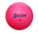Srixon Soft Feel Lady Golf Balls - 1 Dozen Pink