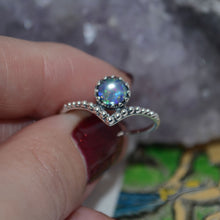 Load image into Gallery viewer, Andromeda Opal Sterling Silver Ring 2