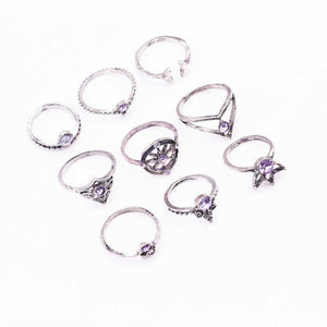 Riordan Stackable Bohemian Ring Set 2