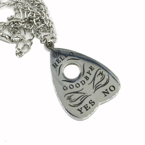 Yes No Ouija Gothic Pendant