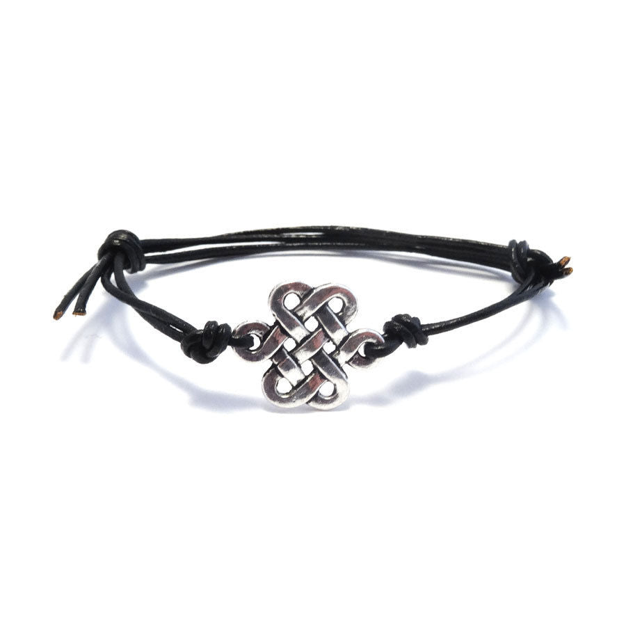 Chinese Knot Bohemian Leather Friendship Bracelet
