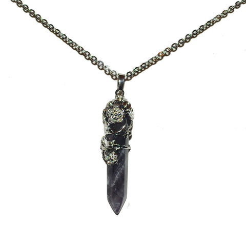 Creeping Death Gemstone Pendant