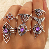 Lilliana Bohemian Stackable Rings 2