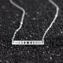 Load image into Gallery viewer, Moonphase Bar Witch Necklace 2