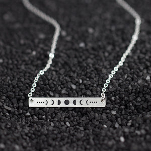 Moonphase Bar Witch Necklace 2