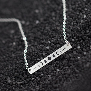 Moonphase Bar Witch Necklace 3