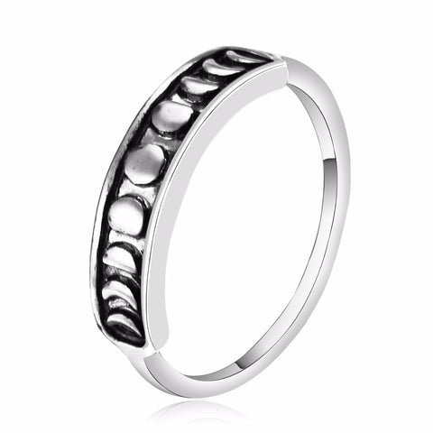 Moonphase Stackable Boho Ring 1