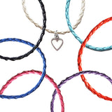 Open Heart Bohemian Leather Anklets