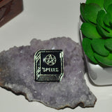 Spell book Gothic Pin Badge 3