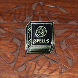 Spell book Gothic Pin Badge 4