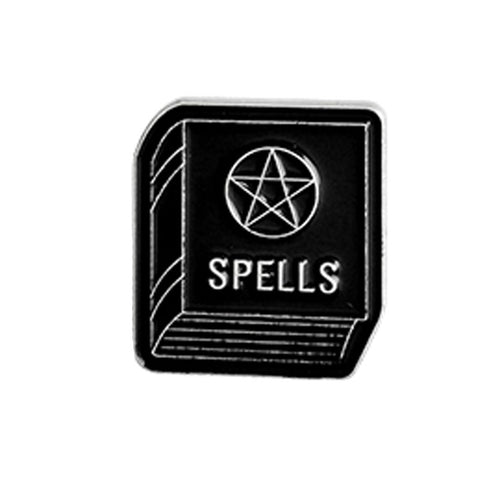 Spell book Gothic Pin Badge 1