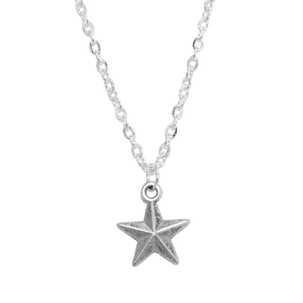 Star charm bohemian necklace