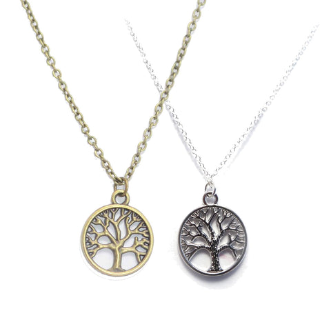 Tree Of Life Pagan Charm Necklace