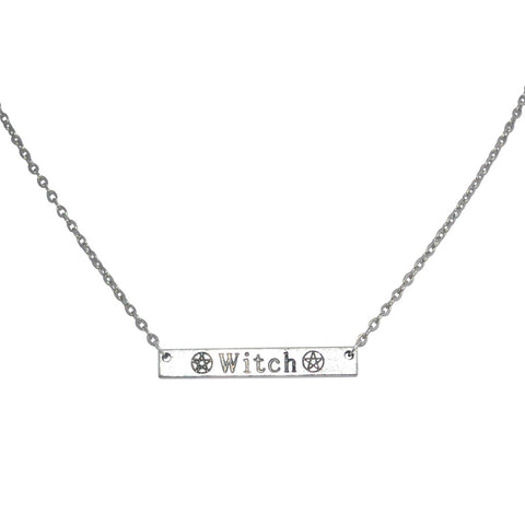 Witch Bar Gothic Necklace