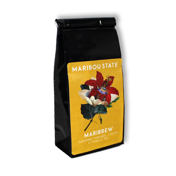 MARIBREW  SUNSHINE TURMERIC AND COCOA TEA