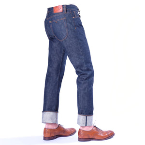 Horn_Dude_Raw_Selvage_Denim_Jean_ Side