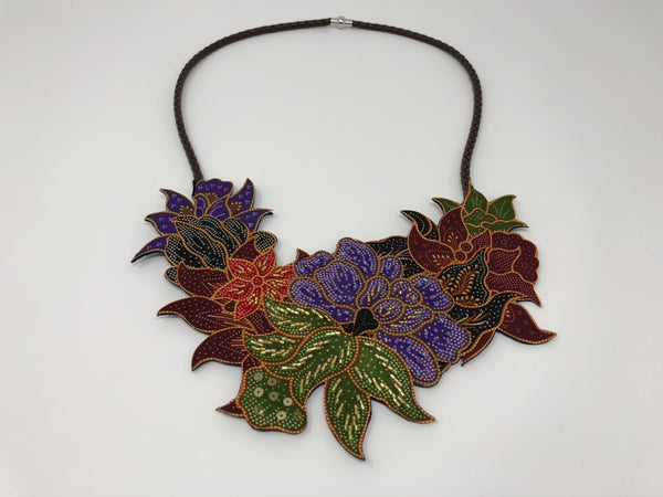 Traditional Batik Necklace (L)
