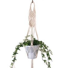 Load image into Gallery viewer, 100% Handmade Macrame Plant Hanger (TRENDING) #9