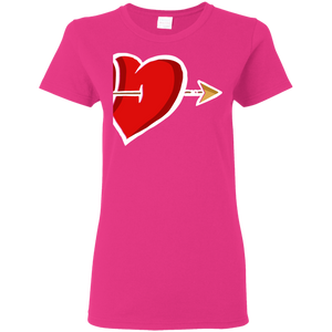 Hearts in Arrow for Women