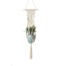Load image into Gallery viewer, 100% Handmade Macrame Plant Hanger (TRENDING) #23