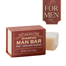 "San Francisco Soap Company Shampoo ""Man Bars"""