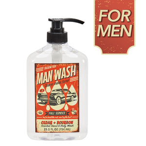 "San Francisco Soap Company ""Man Wash"" Liquid Soap"