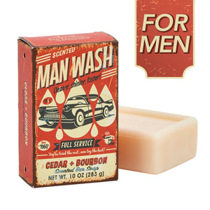 "San Francisco Soap Company ""Man Wash"" Bar Soap"