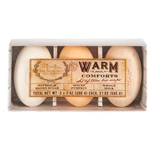 San Francisco Soap Company Warm Comforts Set
